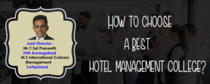 How to choose a best hotel management college? - Blog | Pinnacle IHM