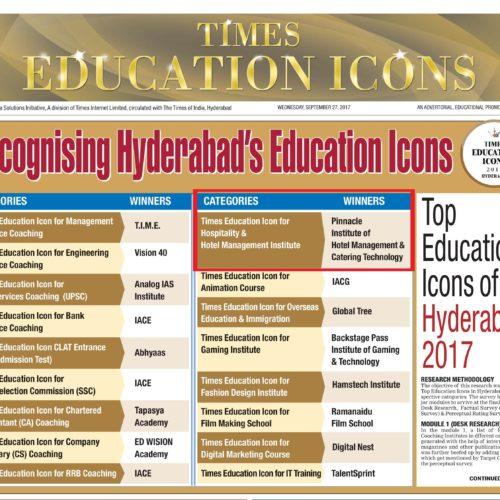 Times Education Icons Winner | Pinnacle IHM